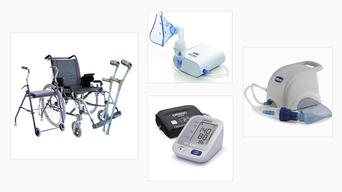 Noleggio attrezzature mediche - Farmacia Lucini - Bonate Sotto